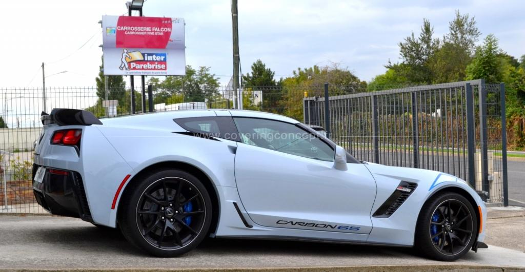 protection carrosserie partielle Corvette C7 Z06