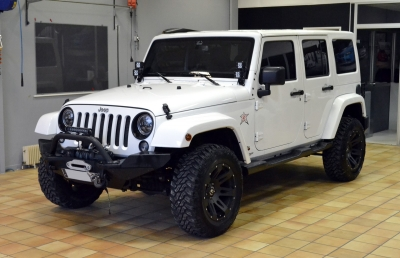 JEEP WRANGLER covering sur mesure camouflage