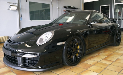 Protection Face avant Porsche 997 GT2.