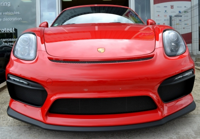 Protection face avant Porsche GT4