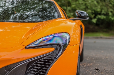 Protection face avant et bas de caisse Mc Laren 650S Spider