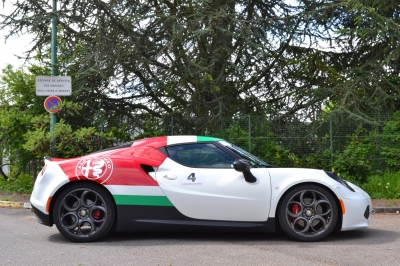 Covering ALFA ROMEO 4C